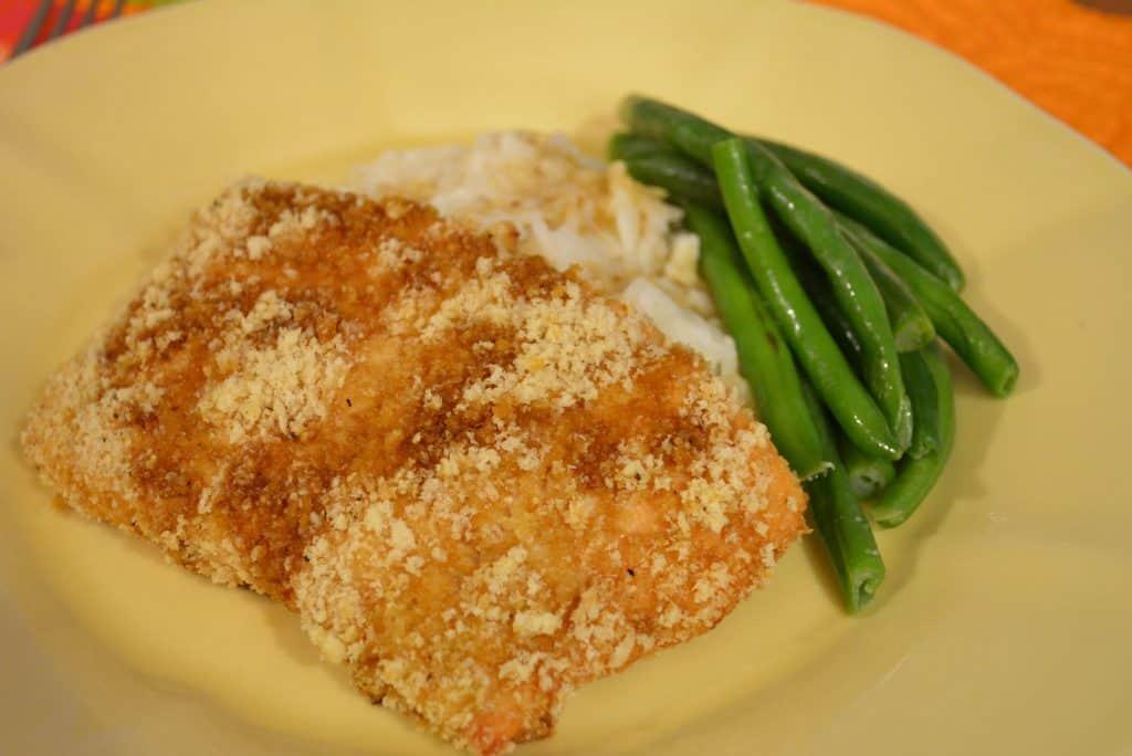 Macadamia Encrusted Salmon