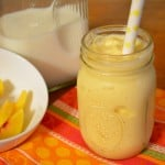 Mango Peach Smoothie {Recipe}