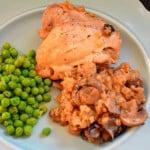 Chicken with Mushroom Rice {emeals recipe}