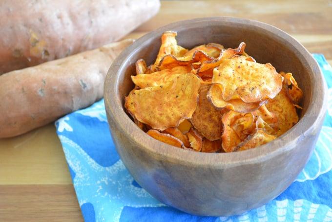 BBQ Sweet Potato Chips