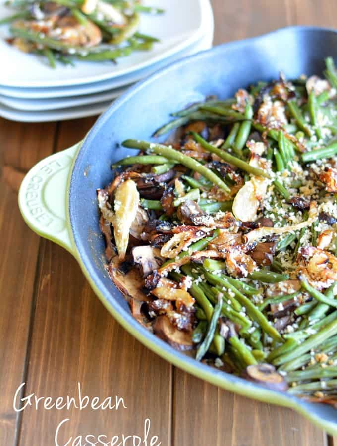 Green Bean Casserole {Recipe Redux}