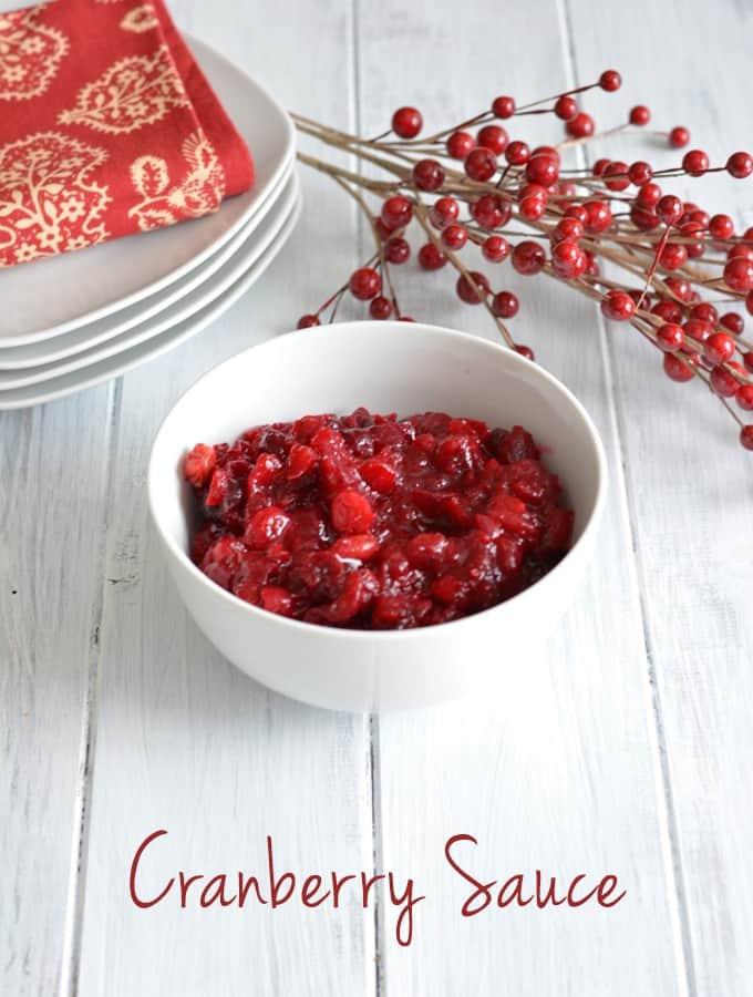 Cranberry Sauce {Recipe}