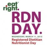 Registered Dietitian Day 2015