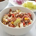 Quinoa Greek Salad for One