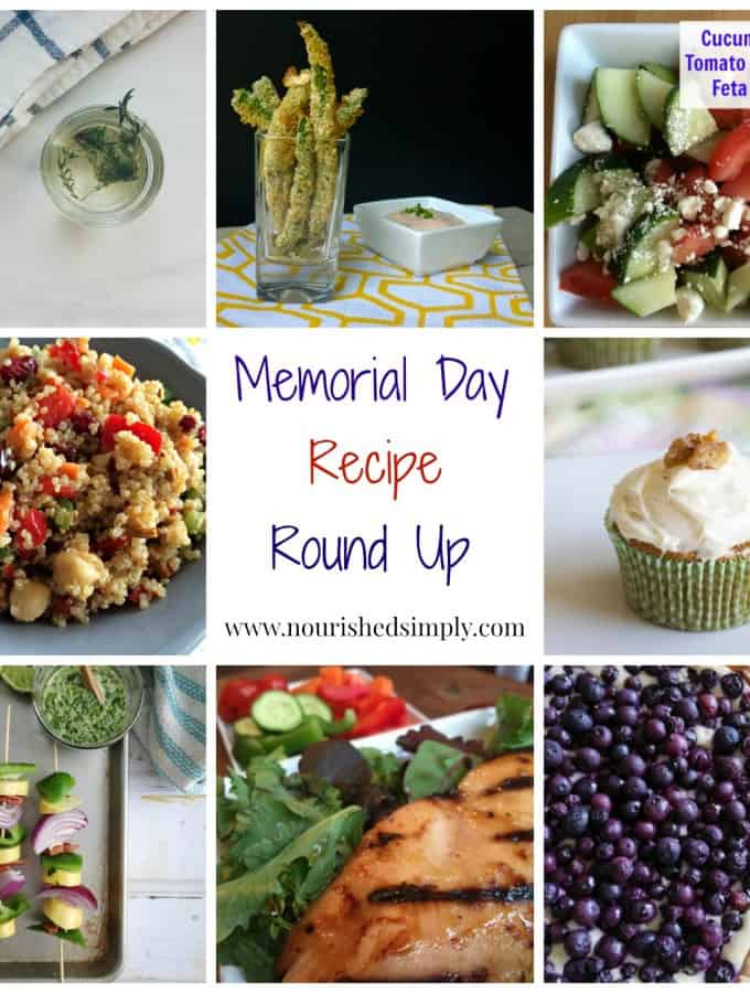 Memorial Day Party Recipe Round Up
