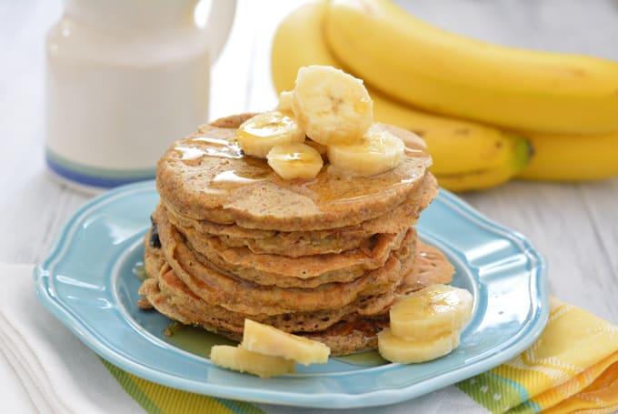 Whole Wheat Banana Pancakes - Recipe Redux