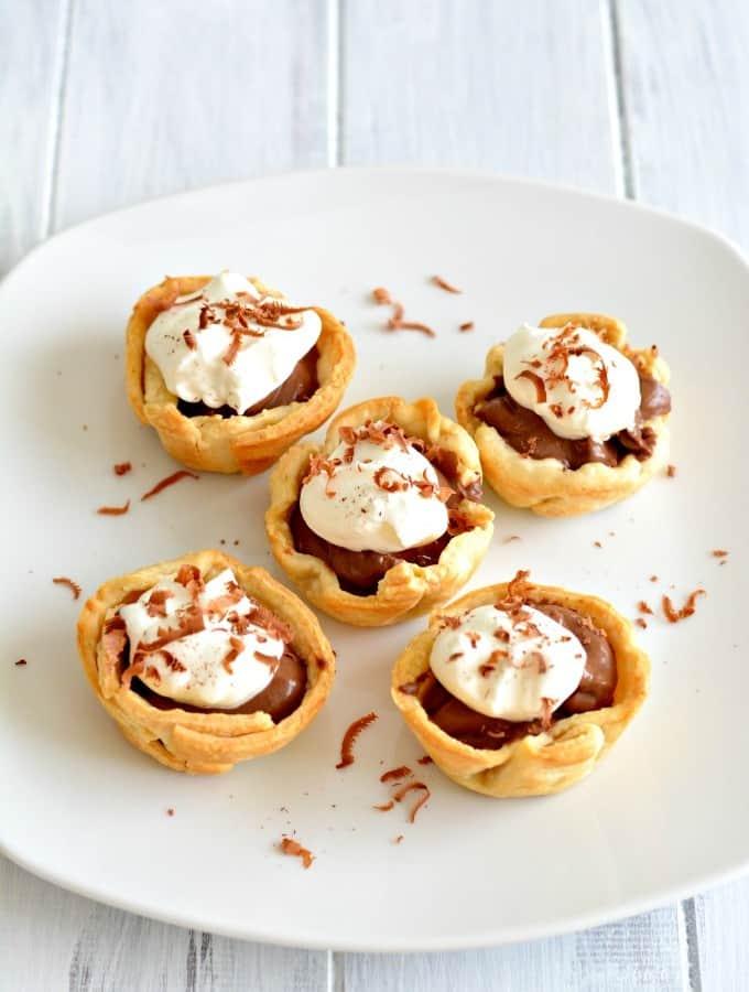 Mini Chocolate Cream Pies – Recipe Redux