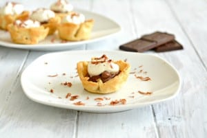 Mini Chocolate Cream Pies