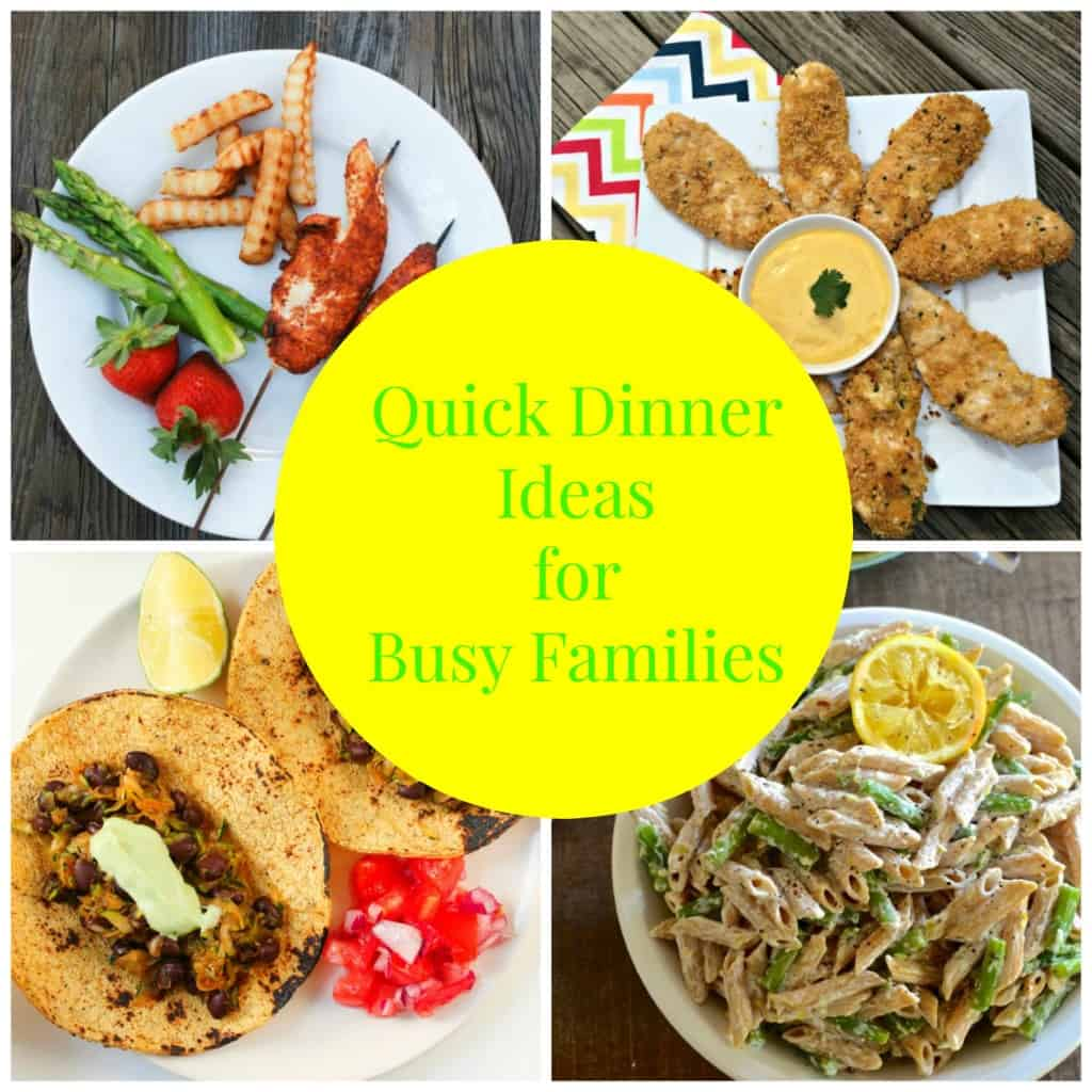 Quick Meal Ideas for Busy Families