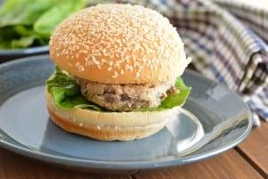 Gruyere Mushroom Turkey Burgers