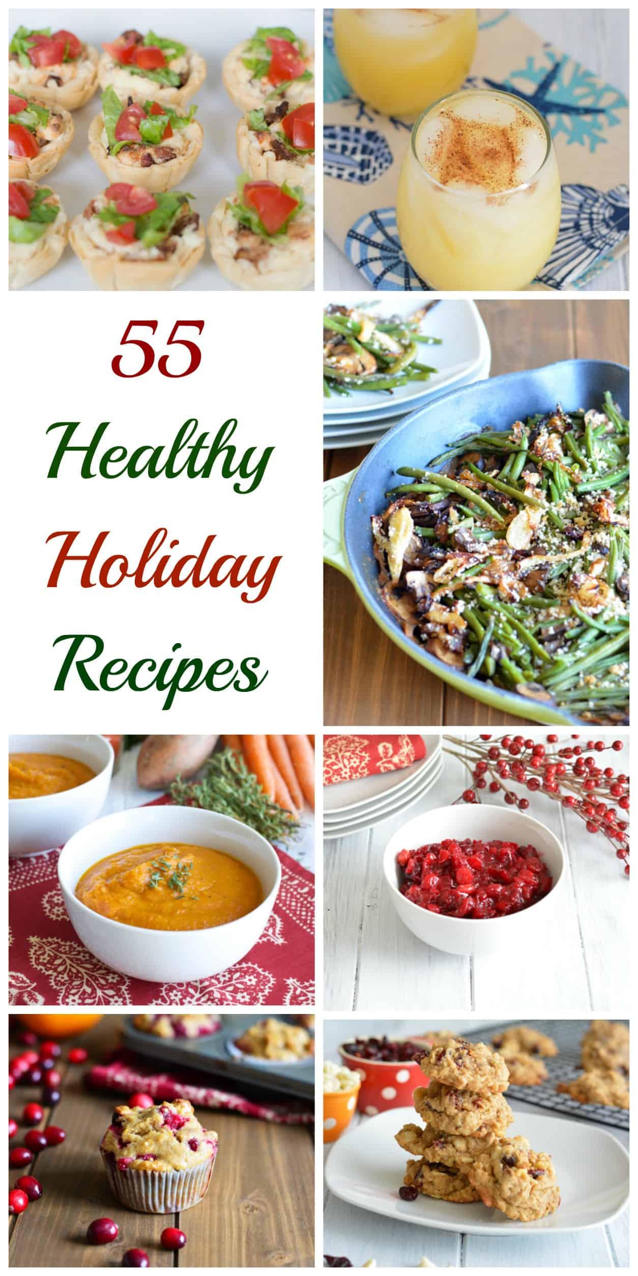 55 Healthy Holiday Recipes