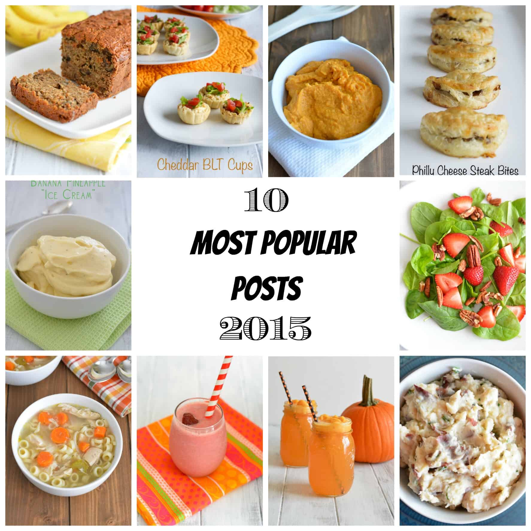 10 Most Popular Recipe Posts of 2015