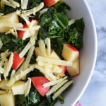 Kale Apple Salad with Dijon Vinaigrette
