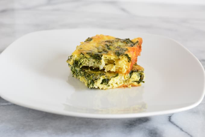 Kale and Cheddar Frittata