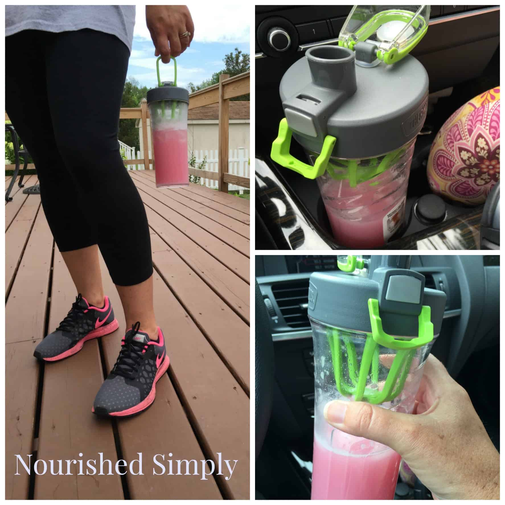 Strawberry Lemonade Protein Shake is sugar free and rich in protein.