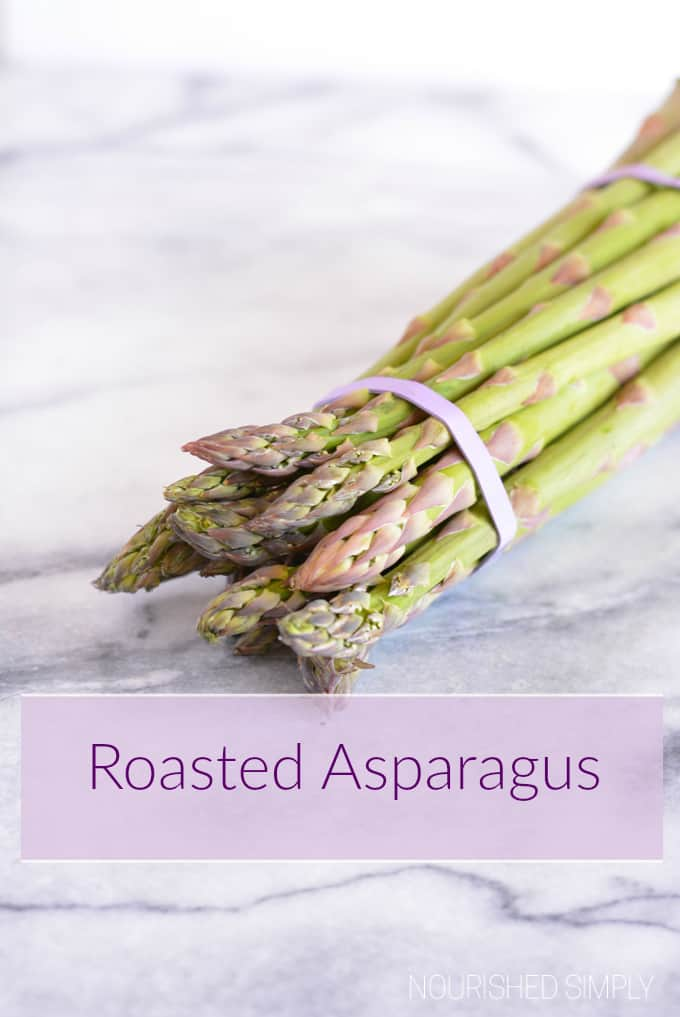 Roasted Asparagus is ready is 20 minutes. This is a quick and easy side dish full of fiber and nutrients. Parmesan cheese adds extra protein.