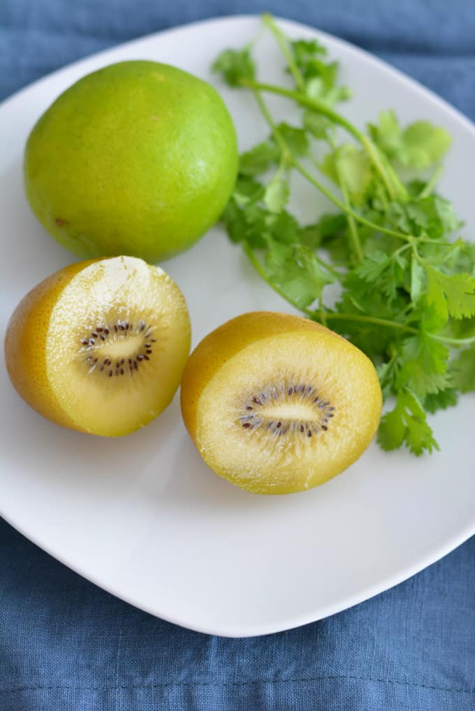 Kiwi Pineapple Salsa is a rich source of vitamins and minerals to add to any meal.
