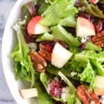 Apple Harvest Salad with Apple Dijon Vinaigrette