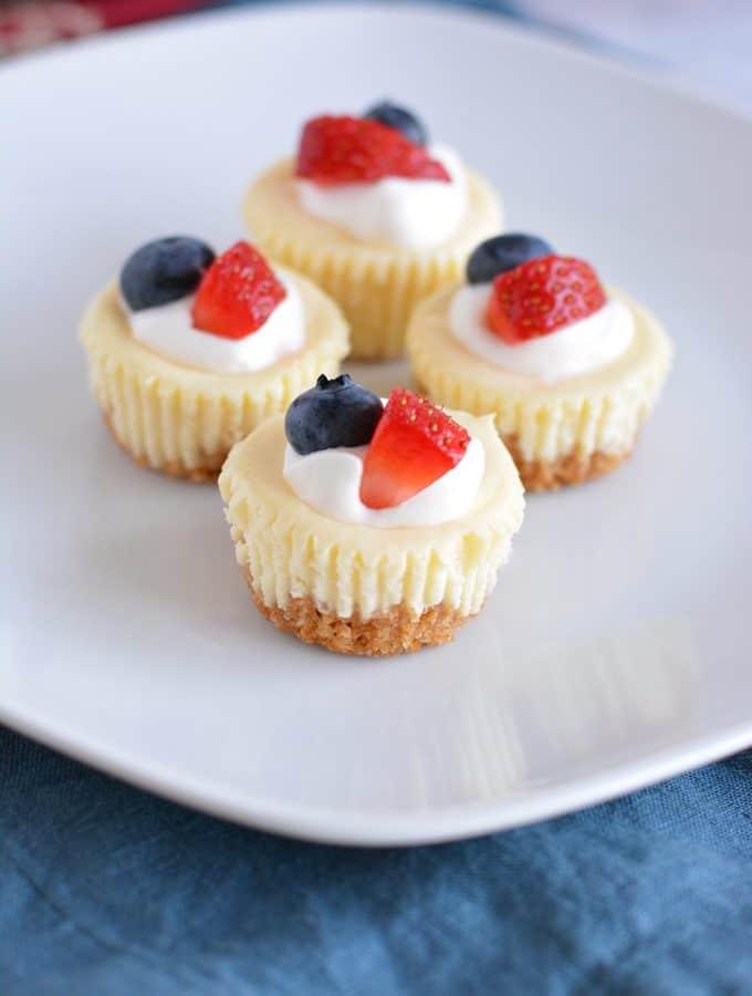 Cheesecake Bites – small bite dessert