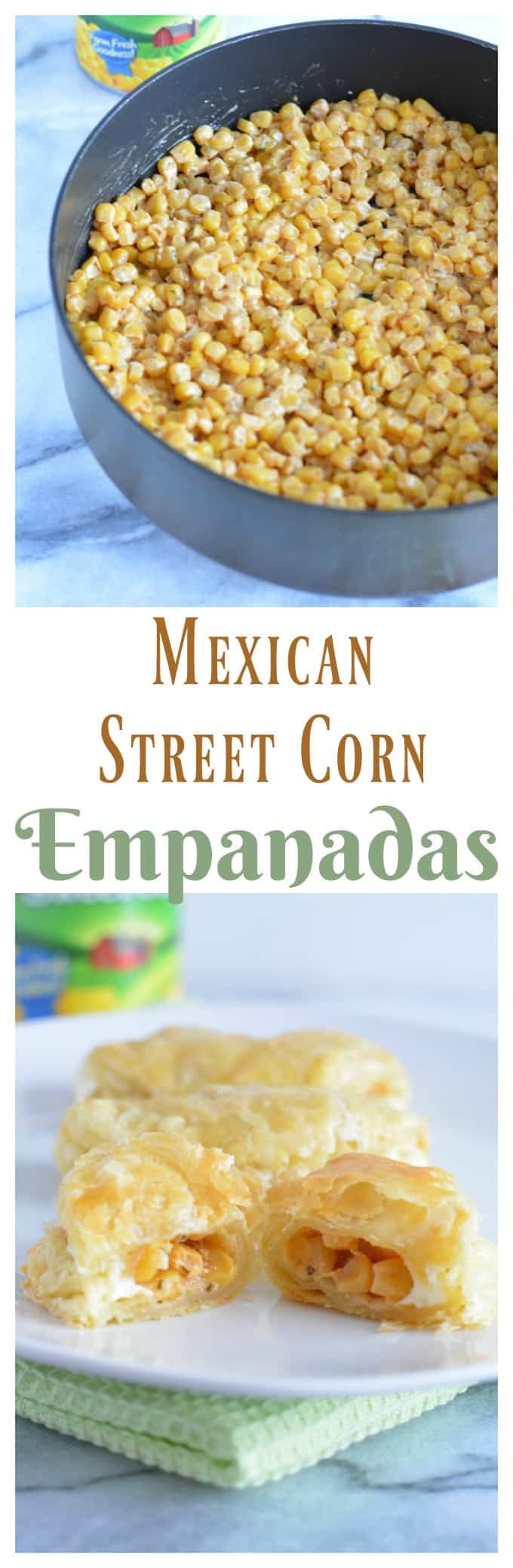 Mexican Street Corn Empanadas are a quick and easy appetizer or snack ready is 30 minutes.