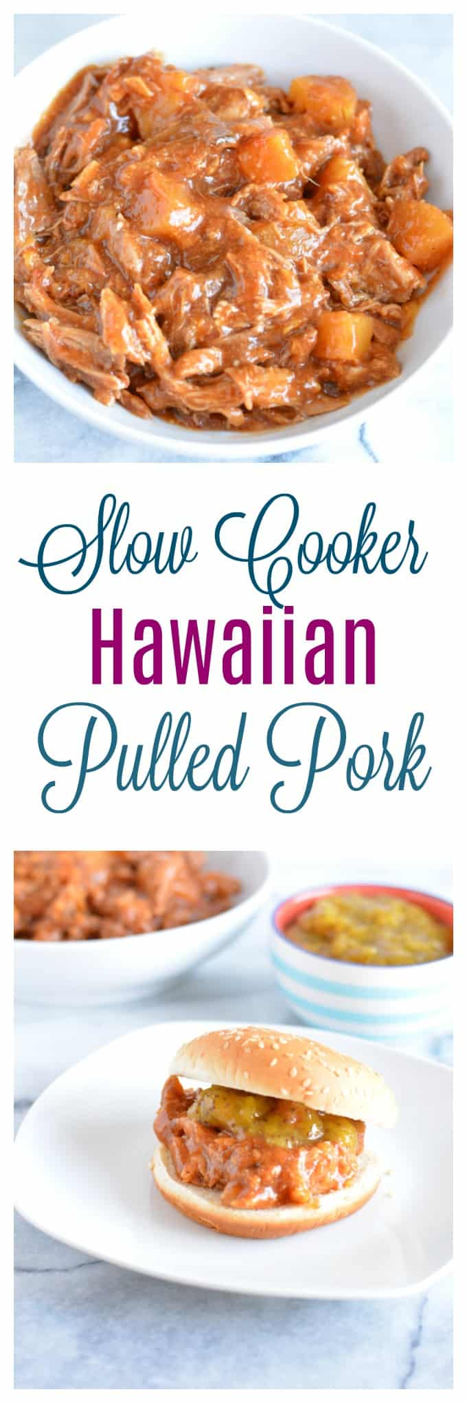 low Cooker Hawaiian Pulled Pork is a great recipe for a party or for meal prep.