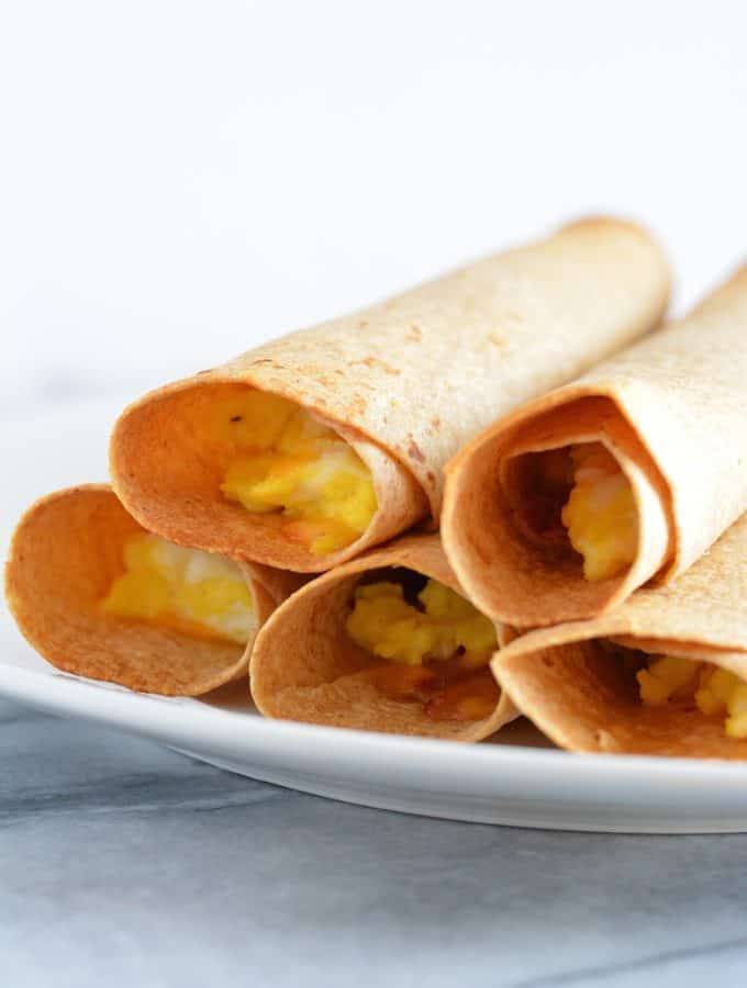 Ham & Cheese Breakfast Taquito