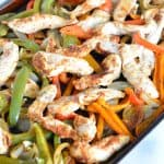 Low Sodium Sheet Pan Chicken Fajitas