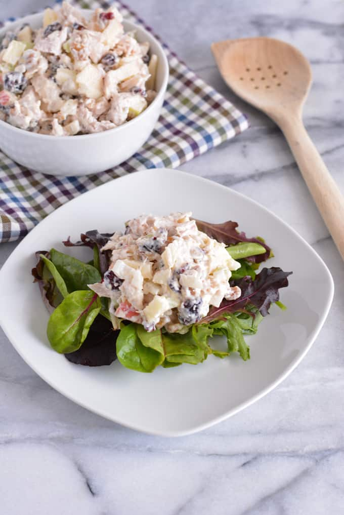 Protein Packed Leftover Turkey Salad