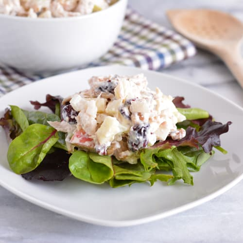 Protein-Packed Leftover Turkey Salad