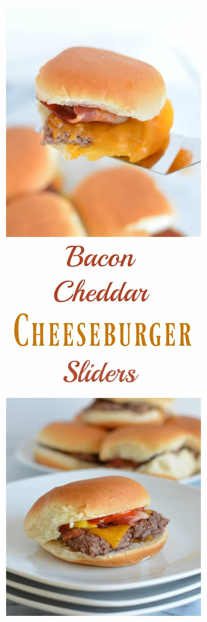 Bacon Cheddar Cheeseburger Sliders are the perfect game day snack. Baked in the oven there is no need to turn on your grill. Pepperidge farm sliders make game day easy. #sponsored #easyrecipes #gamedayrecipes #respectthebun #snacks #sliders #burgers